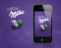 Milka egg chase