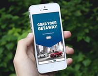 Subaru Grab Your Getaway App