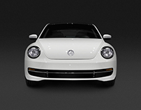 Отрисовка Volkswagen Beetle