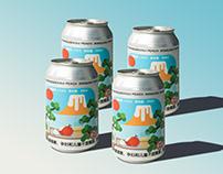 OUI PEACH Craft beer