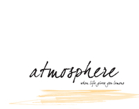 Atmosphere Campaign- When Life Gives You Lemons