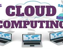 Cloud Computing Info Graphic