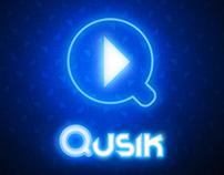 Qusik - Brand & App UI Design