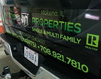 Realty Vehicle Wrap