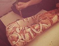 My graduation project. Ceramics,
