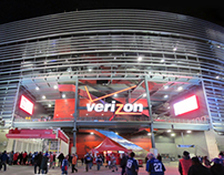 Metlife Stadium: Verizon Cornerstone