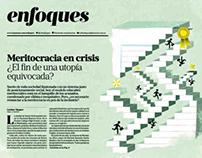 Ilustración de tapa - Suplemento Enfoques La Nación