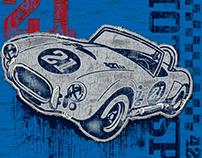 Sonoma Race Car Graphic