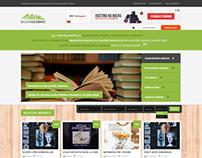 Book Bazaar Webdesign