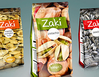 Conceptual design for nuts packaging