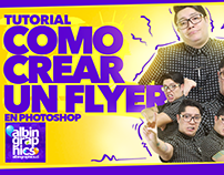 "Video tutorial ""Como crear un Flyer"" en Photoshop"
