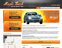 Magic Touch Website 2012