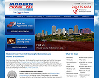 Modern Power-Vac Website 2013