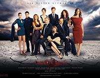 Saklı Kalan Tv Series Branding & Poster
