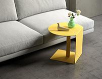 Free 3d model / Oda Pedestal Table by Ligne Roset