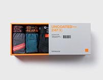 Uncoated247 Gift set design