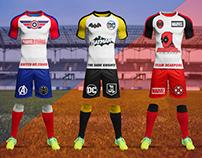 Superhero Football Soccer League Project