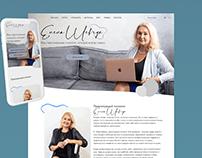 Website for a psychologist