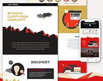 Elm Digital Web site, branding, and Illustration