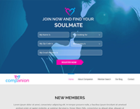 Companian - Dating Website Template