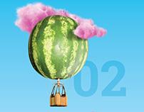 Calendar 2017. Foodartwork. Taste & Creativity.