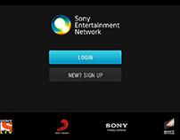 SONY - UX UI