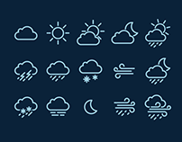 40+ Best Weather Forecast Icon Sets Collection