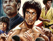 Enter the Dragon - Film Poster