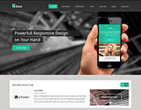 Bueza Business Ecommerce ready WordPress Theme