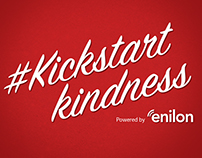 Enilon Holiday Campaign  #kickstartkindness
