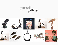 Painting and Printing Web Design - Parnell Gallery