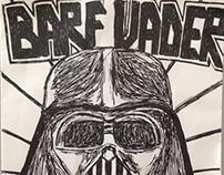 Barf Vader (Vomit Pun)