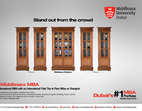 Middlesex University MBA Campaign