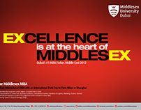 Middlesex Unibersity MBA Campaign 2