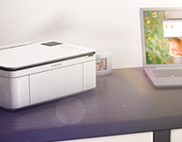 Samsung Printer - CJX-1050W