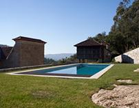 Countryside swimming pool