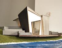 Duplex on the river   Interior design project