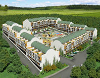 Armutlu Tatil köyü - (Armutlu Resort) - ANKAYAPI