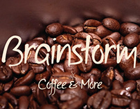 BRAINSTORM COFFEE SHOP BRANDING