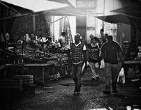 Palermo, ancient market Ballarò