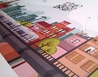 MJD promotional video // Illustration