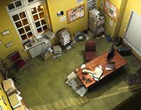 Commissariat (3D Scene)