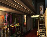 Corridor (3D Scene)