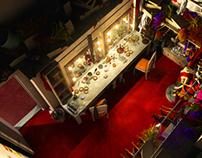 Dressing room (3D Scene)
