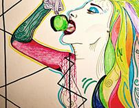 Illustrations (pen-pencil)