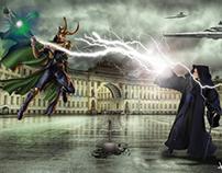 The Duel by Mjölnir - Concept Art
