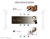 Malthouse Barn - Web Design