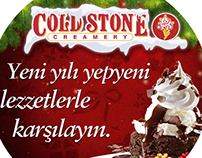 Cold Stone Creamery Ortaköy New Year Consept POP