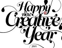 Happy New Creative Year