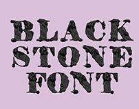 Black Stone Font